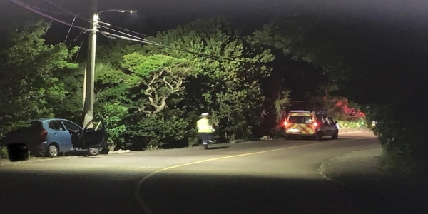 BPS Confirm Road Traffic Collision In Shelly Bay Area Not Serious