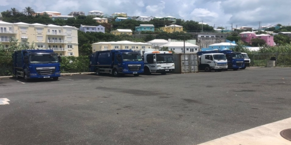 Industrial action results in trash collection delays