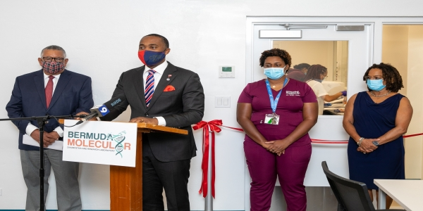 Molecular Diagnostic Laboratory (MDL) Official Opening