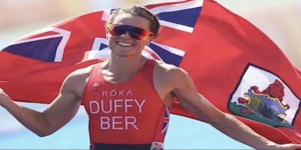 OLYMPIC BRONZE MEDALLIST CLARRENCE HILL GIVES HIGH PRAISE TO DUFFY ON HER GOLD MEDAL ACHIEVEMENT