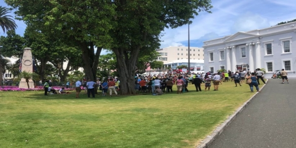 Peaceful Protest Rally Held Without Incident