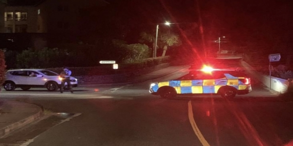 Police Reporting Road Traffic Collision In Shelly Bay Area