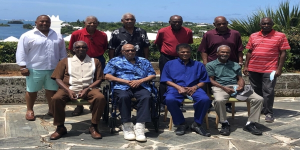 Cup Match's Oldest Legends Reunite for Luncheon