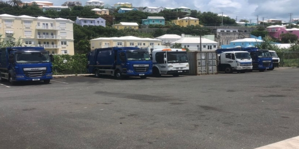 Six Garbage Collection Trucks Can't Service Bermuda