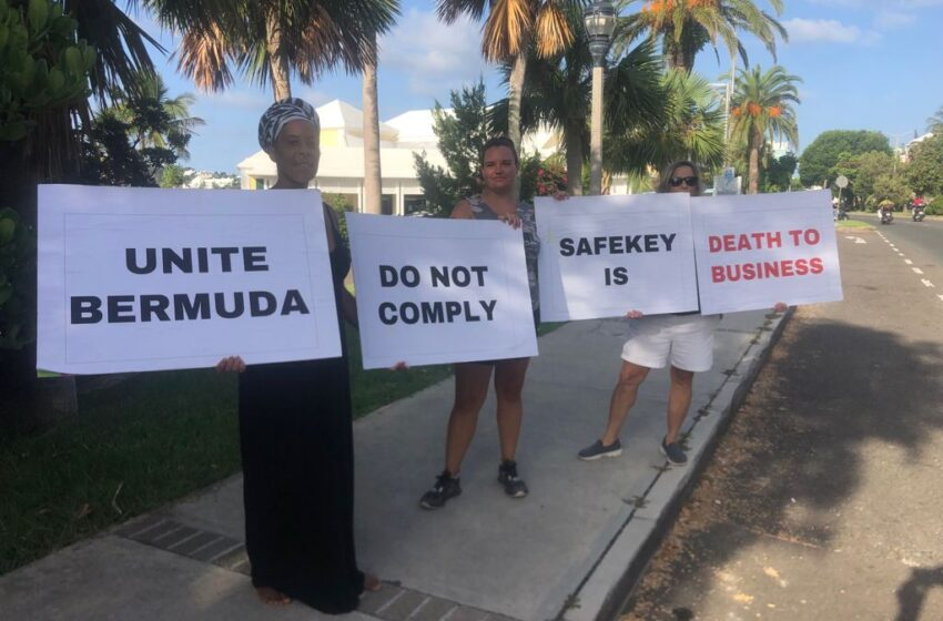 SafeKey Protesters Wish to End the Divide Between Vaccinated and Unvaccinated