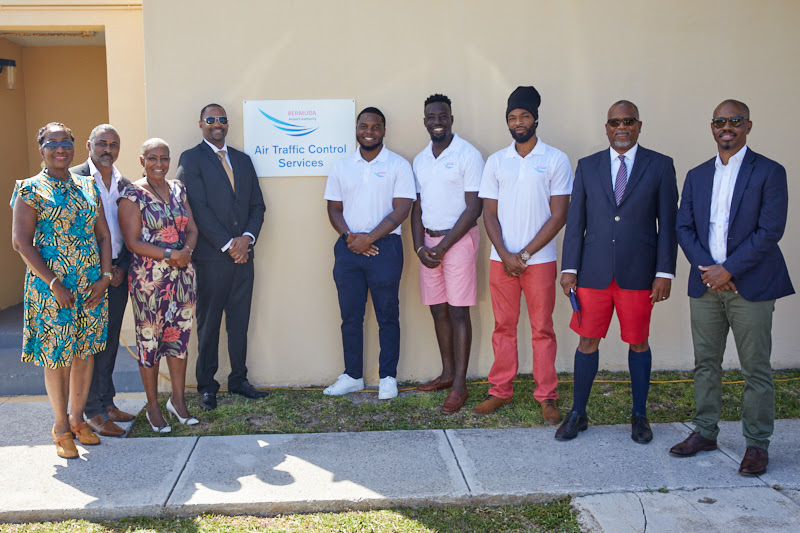 Three New Bermudians Licenced Air Traffic Controllers