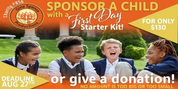Gina Spence Productions Commences Ninth Annual Sponsor-A-Child Drive