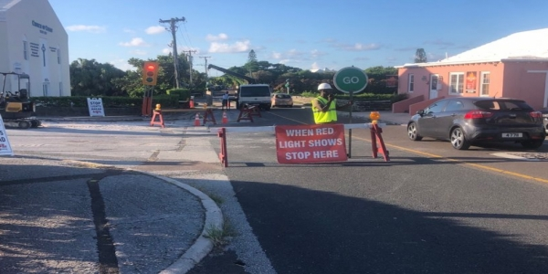 Public Reminder of Ongoing Road Works