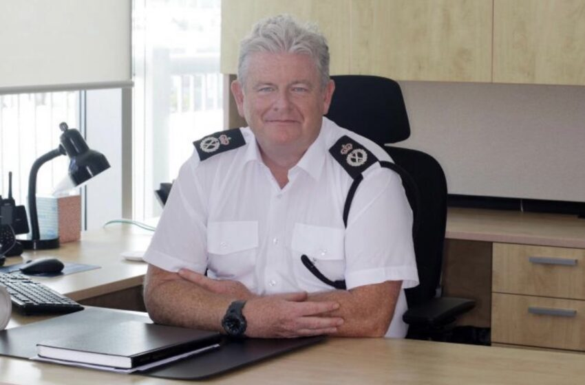 Commissioner Corbishley Off Island Following Spate Of Illness
