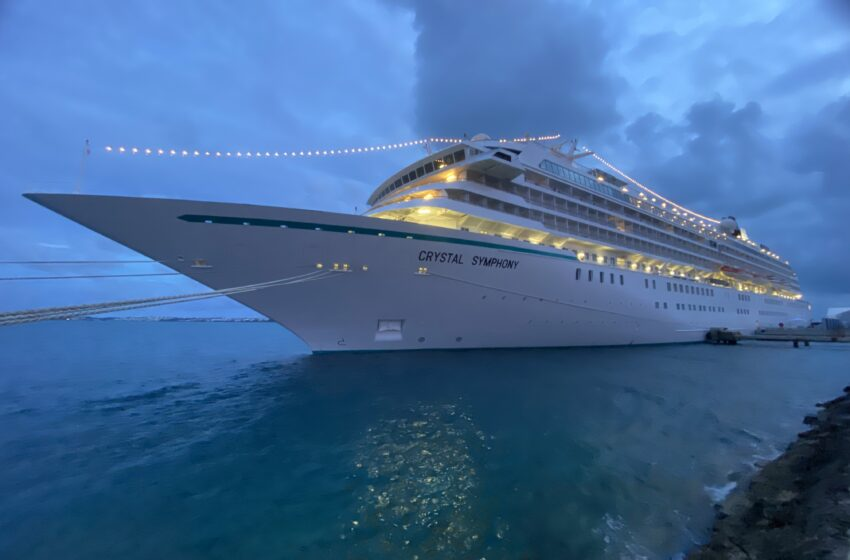 Crystal Symphony Ship Cleared by Ministry of Health