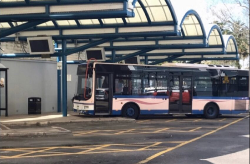 COVID'S FORTH WAVE IMPACTS BUS SERVICE