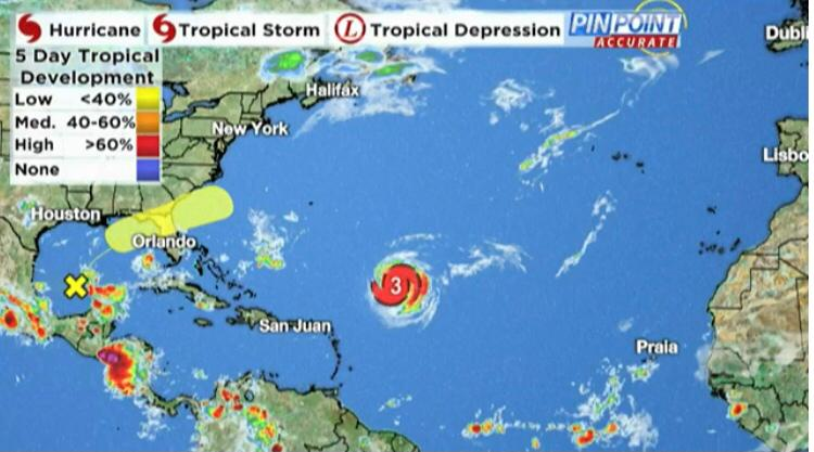 EMO UPDATE: Hurricane Larry Expected To Stay East Of Bermuda,