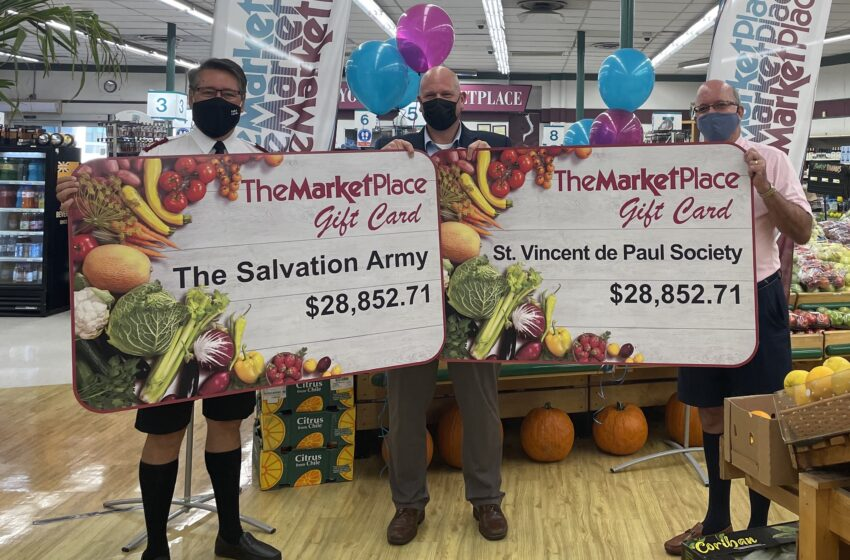 The MarketPlace's Fundraising Appeal Provides $60,000 Boost for Charity