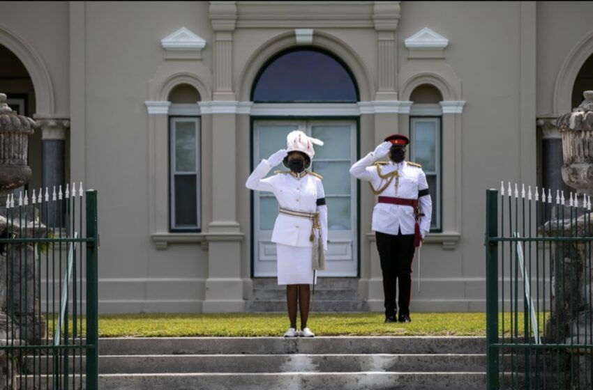 Her Excellency the Governor, Ms Rena Lalgie Confirm Commissioner Corbishley Resignation